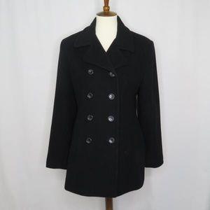 Hailstones Studio Cashmere Wool Peacoat Jacket 10